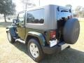 2010 Natural Green Pearl Jeep Wrangler Sahara 4x4  photo #3