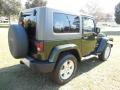 2010 Natural Green Pearl Jeep Wrangler Sahara 4x4  photo #9