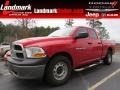 2011 Flame Red Dodge Ram 1500 ST Quad Cab #89051979
