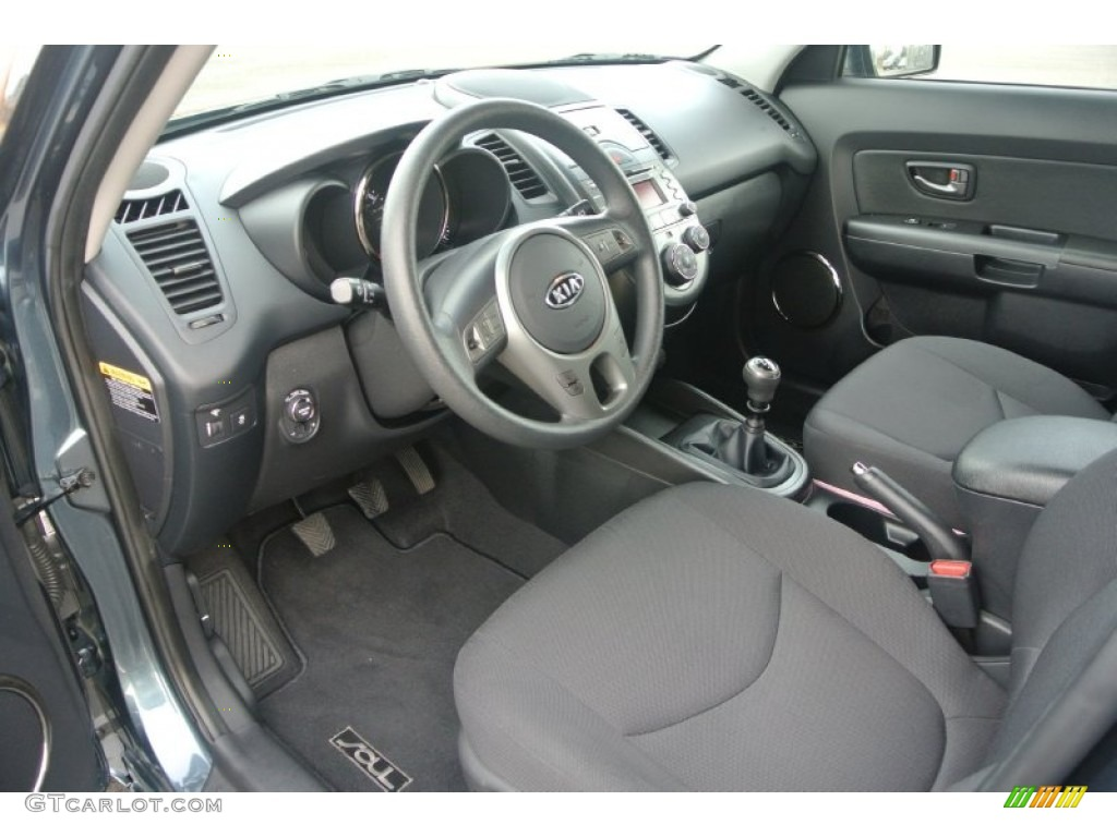 2011 Kia Soul Interior Color Photos