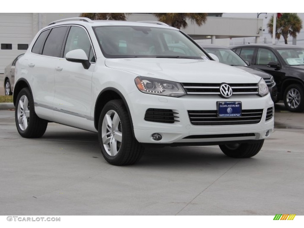 2014 pure white volkswagen touareg tdi lux 4motion. Black Bedroom Furniture Sets. Home Design Ideas