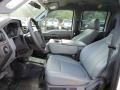 2012 White Platinum Metallic Tri-Coat Ford F250 Super Duty XL Crew Cab 4x4  photo #9