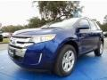 Deep Impact Blue 2014 Ford Edge Gallery
