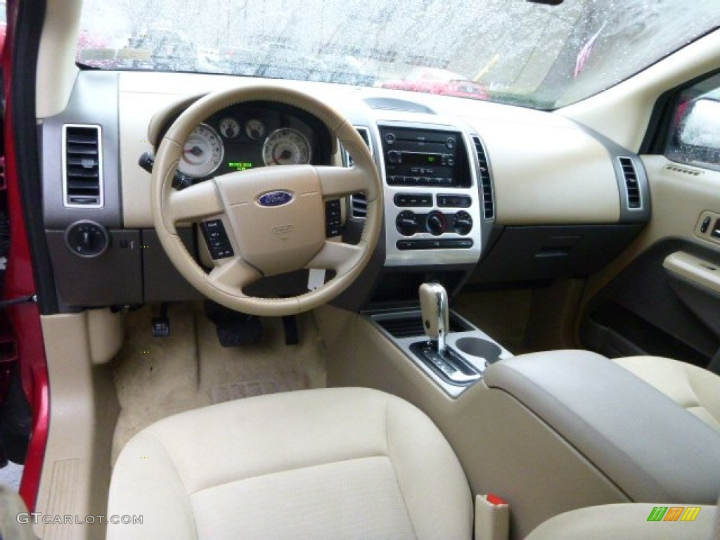 camel interior 2007 ford edge sel awd photo 89139656. Black Bedroom Furniture Sets. Home Design Ideas