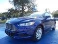 Deep Impact Blue 2014 Ford Fusion SE