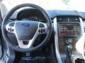 SEL Appearance Charcoal Black Leather/Gray Alcantara Dashboard Photo for 2014 Ford Edge #89145711