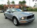 2006 Tungsten Grey Metallic Ford Mustang V6 Premium Coupe  photo #1