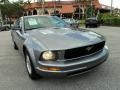2006 Tungsten Grey Metallic Ford Mustang V6 Premium Coupe  photo #2