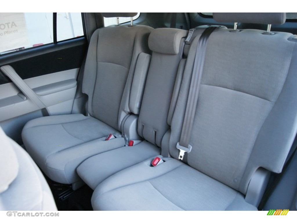2013 Toyota Highlander Hybrid 4WD Interior Color Photos