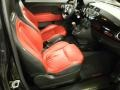 Front Seat of 2012 500 Abarth