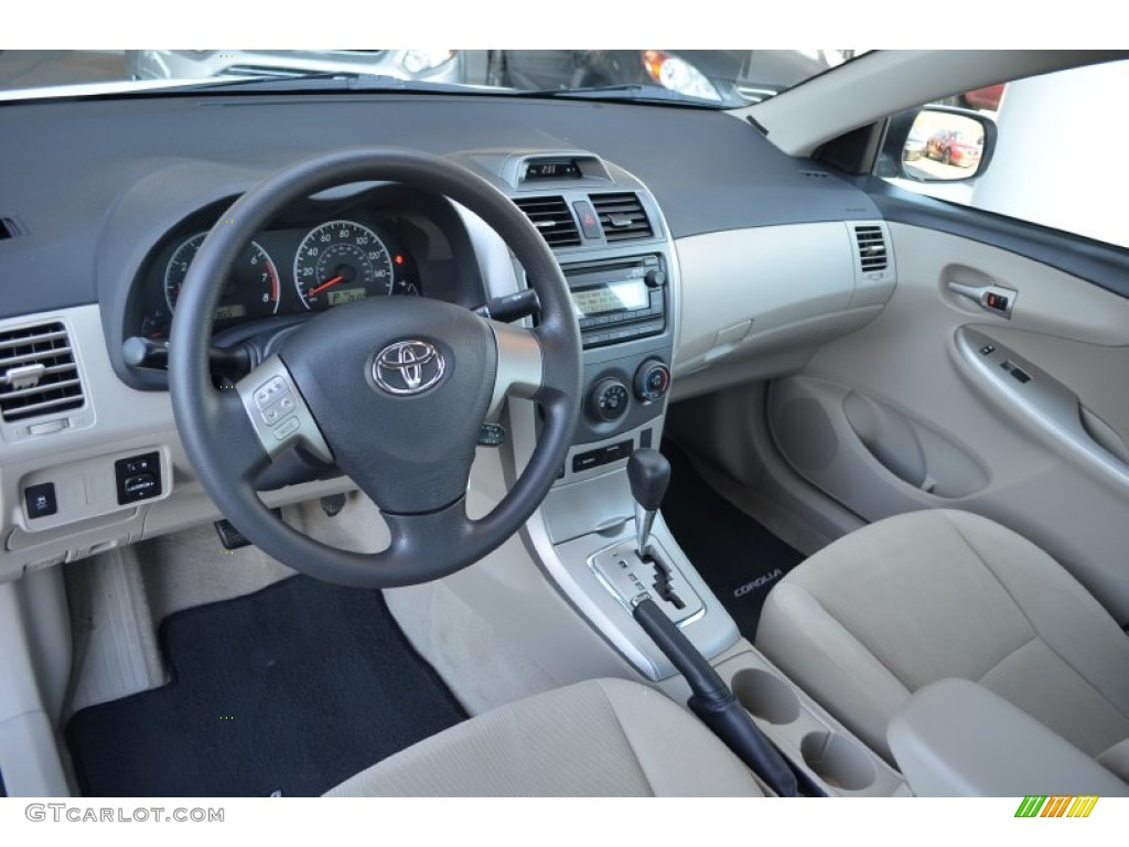 2012 Toyota Corolla Le Interior Color Photos