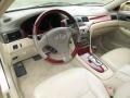 Ivory 2003 Lexus ES Interiors