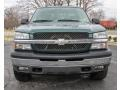 2005 Dark Green Metallic Chevrolet Silverado 1500 LS Crew Cab  photo #2
