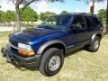 Indigo Blue Metallic 2002 Chevrolet Blazer LS ZR2 4x4