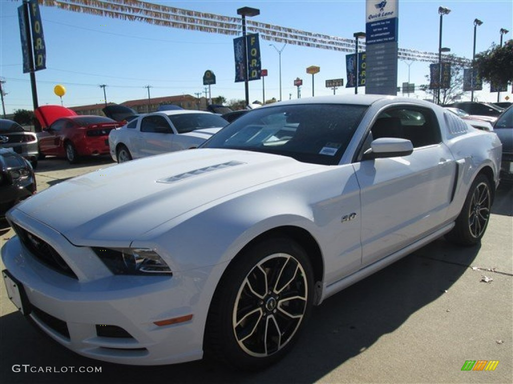 Oxford white ford mustang ford mustang gt premium coupe