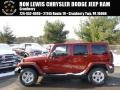 Copperhead Pearl 2014 Jeep Wrangler Unlimited Sahara 4x4