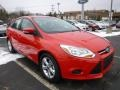 Race Red 2014 Ford Focus SE Sedan