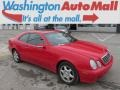 Magma Red 2001 Mercedes-Benz CLK 320 Coupe