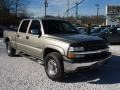 2002 Light Pewter Metallic Chevrolet Silverado 1500 LS Crew Cab 4x4  photo #1