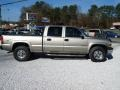 2002 Light Pewter Metallic Chevrolet Silverado 1500 LS Crew Cab 4x4  photo #2