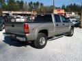 2002 Light Pewter Metallic Chevrolet Silverado 1500 LS Crew Cab 4x4  photo #3