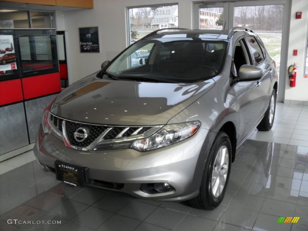 2011 Murano SL AWD - Platinum Graphite / Black photo #1