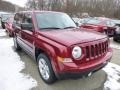 Deep Cherry Red Crystal Pearl 2014 Jeep Patriot Gallery