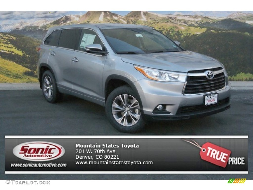 2014 Toyota Highlander In Creme Brulee Micah Color Autos