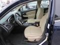 Black/Light Frost Beige Front Seat Photo for 2014 Chrysler 200 #89249614