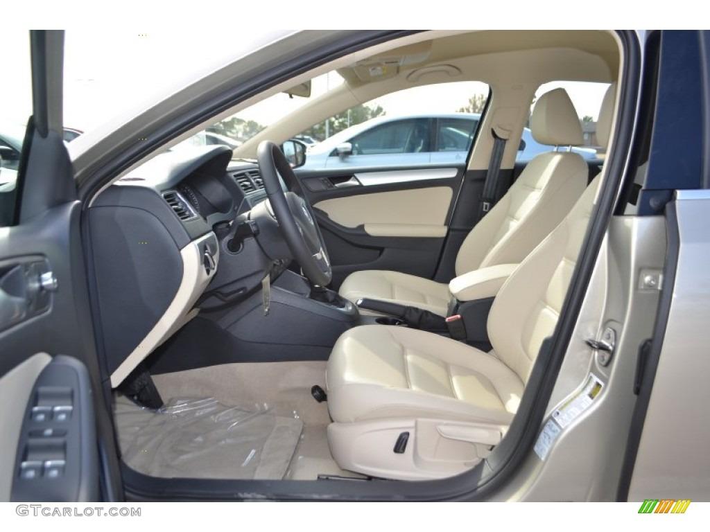 Cornsilk Beige Interior 2014 Volkswagen Jetta Se Sedan Photo 89249782