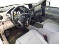 2014 Honda Pilot Gray Interior Interior Photo
