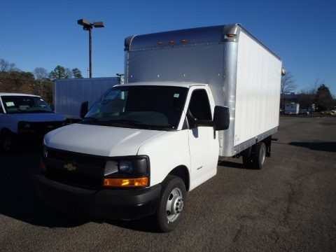 2014 Chevrolet Express Cutaway 4500 Moving Van Data, Info and Specs
