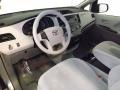 Light Gray 2011 Toyota Sienna Interiors