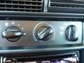 1995 Ford Mustang Black Interior Controls Photo