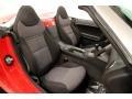 2008 Pontiac Solstice Ebony Interior Front Seat Photo
