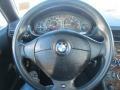 2002 BMW Z3 Black Interior Steering Wheel Photo