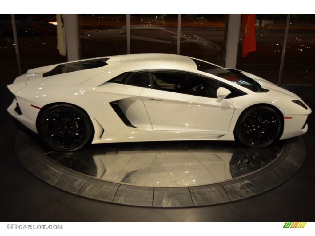 Bianco Isis 2012 Lamborghini Aventador Lp 700 4 Exterior Photo 89292093
