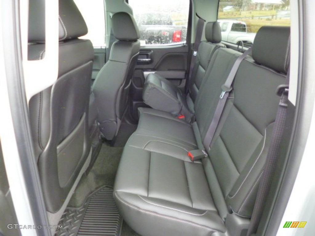 2014 chevrolet silverado 1500 ltz z71 double cab 4x4 rear seat photo 89293800. Black Bedroom Furniture Sets. Home Design Ideas