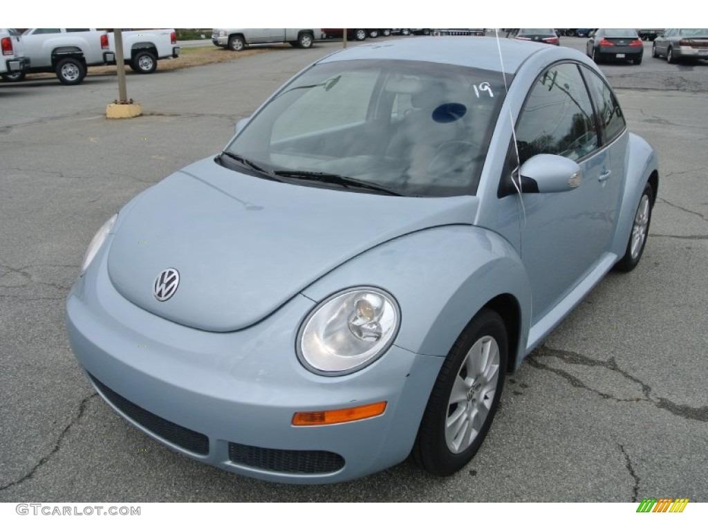 Heaven Blue Metallic 2009 Volkswagen New Beetle 2 5 Coupe