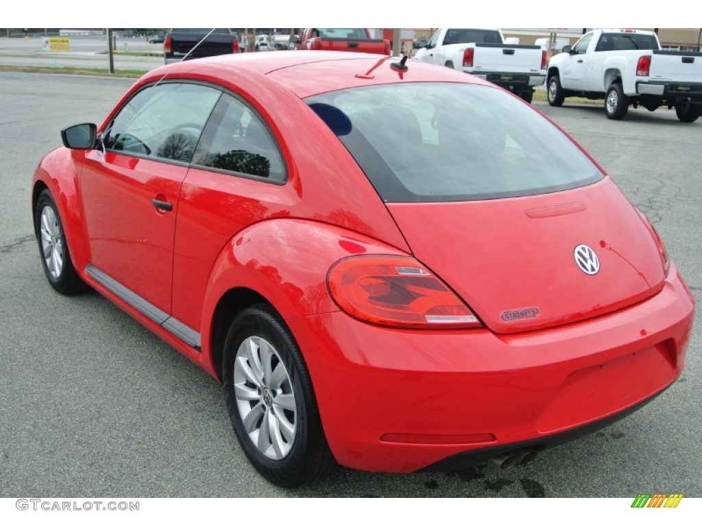tornado red 2013 volkswagen beetle 2 5l exterior photo. Black Bedroom Furniture Sets. Home Design Ideas