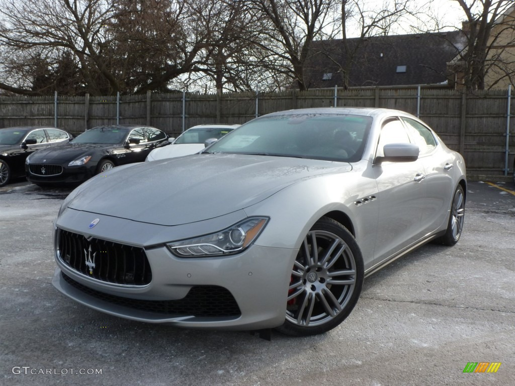 Grigio Metallo Grey Metallic 2014 Maserati Ghibli S Q4 Exterior Photo 89299679