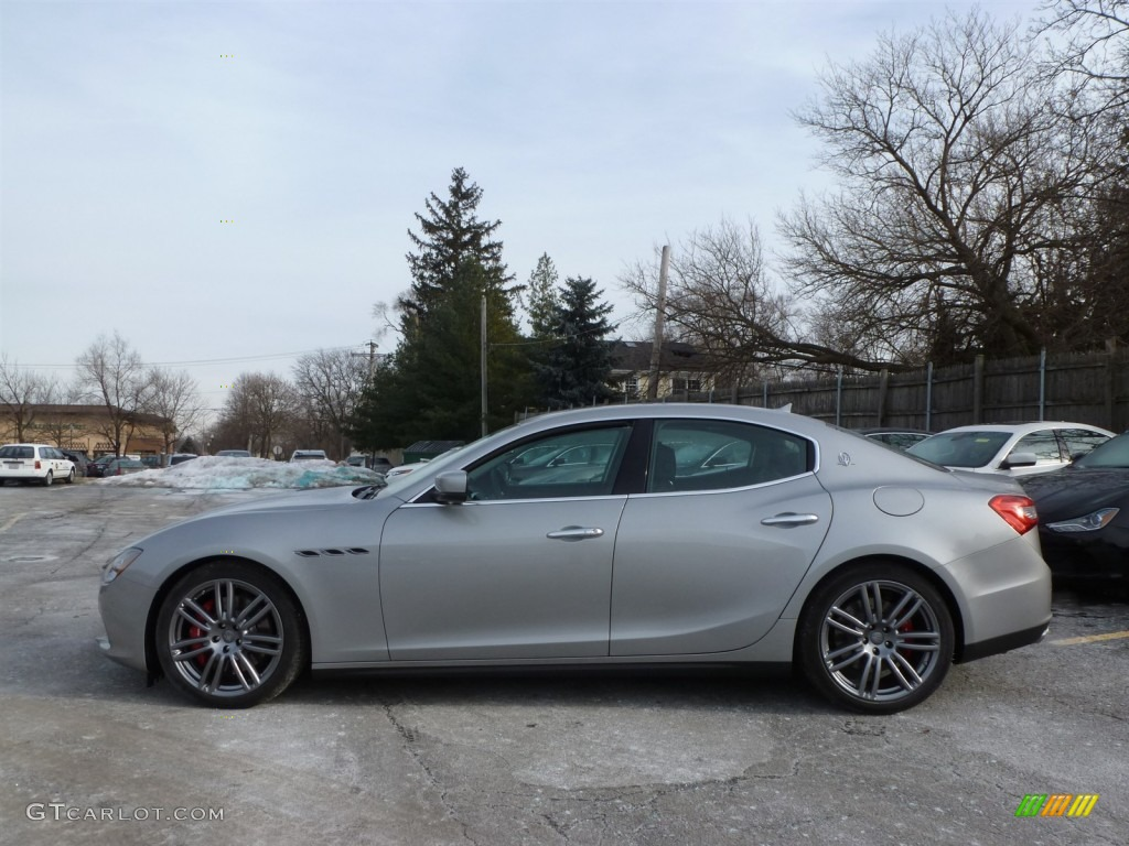 Grigio Metallo Grey Metallic 2014 Maserati Ghibli S Q4 Exterior Photo 89299689