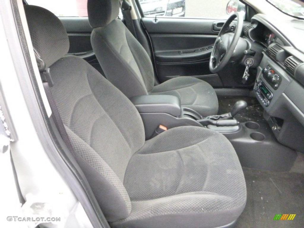 2004 Chrysler Sebring Lx Sedan Front Seat Photo 89303957