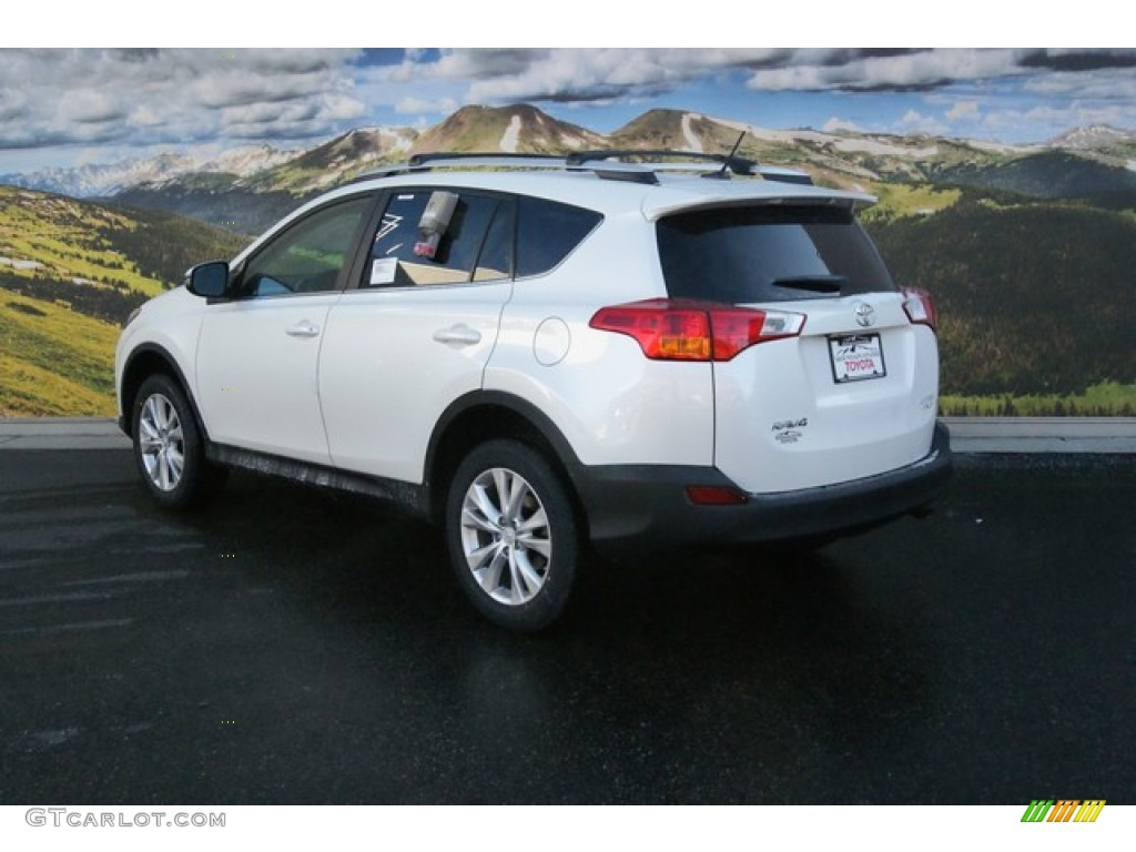 2014 blizzard white pearl toyota rav4 limited awd. Black Bedroom Furniture Sets. Home Design Ideas