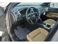 Caramel/Ebony 2014 Cadillac SRX Interiors