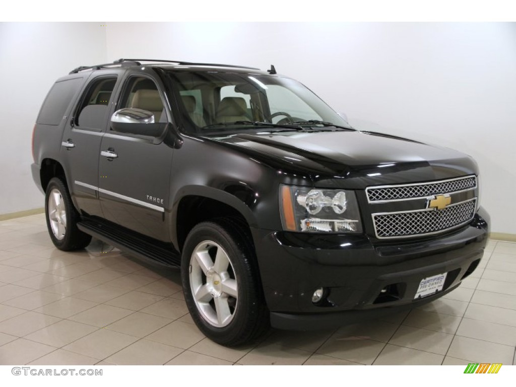 2013 black chevrolet tahoe ltz 4x4 89301030 car color galleries. Black Bedroom Furniture Sets. Home Design Ideas