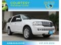 White Platinum Tri-Coat 2011 Lincoln Navigator Limited Edition