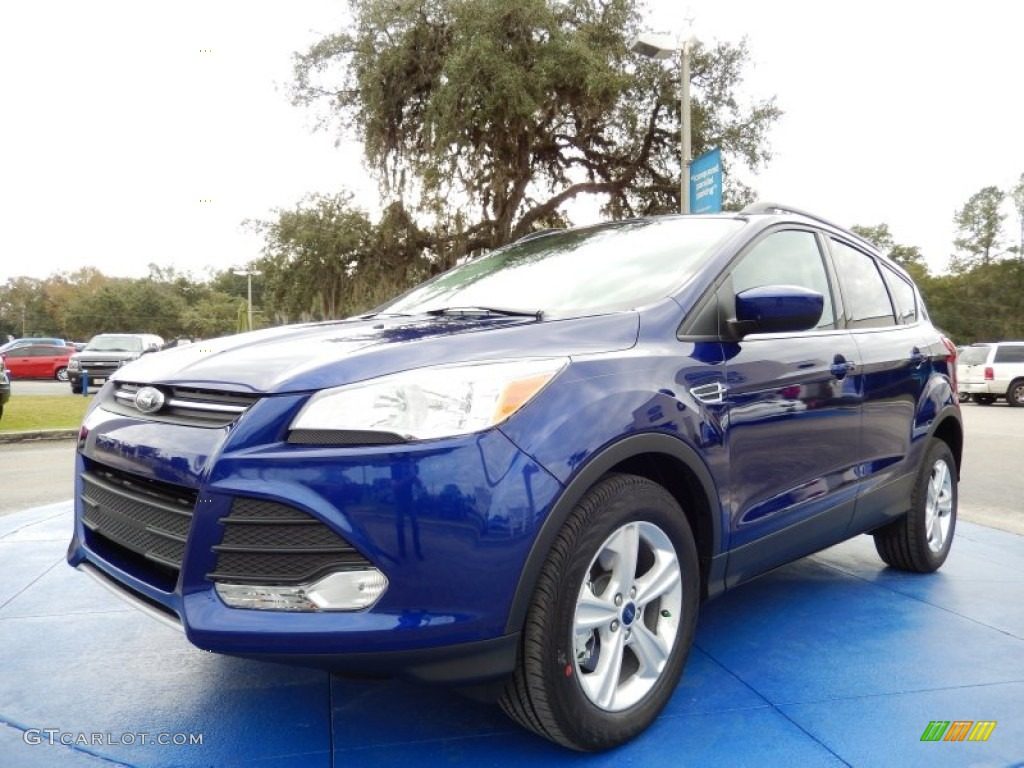 2014 Escape SE 2.0L EcoBoost - Deep Impact Blue / Medium Light Stone photo #1