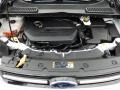 2014 White Platinum Ford Escape Titanium 1.6L EcoBoost  photo #11