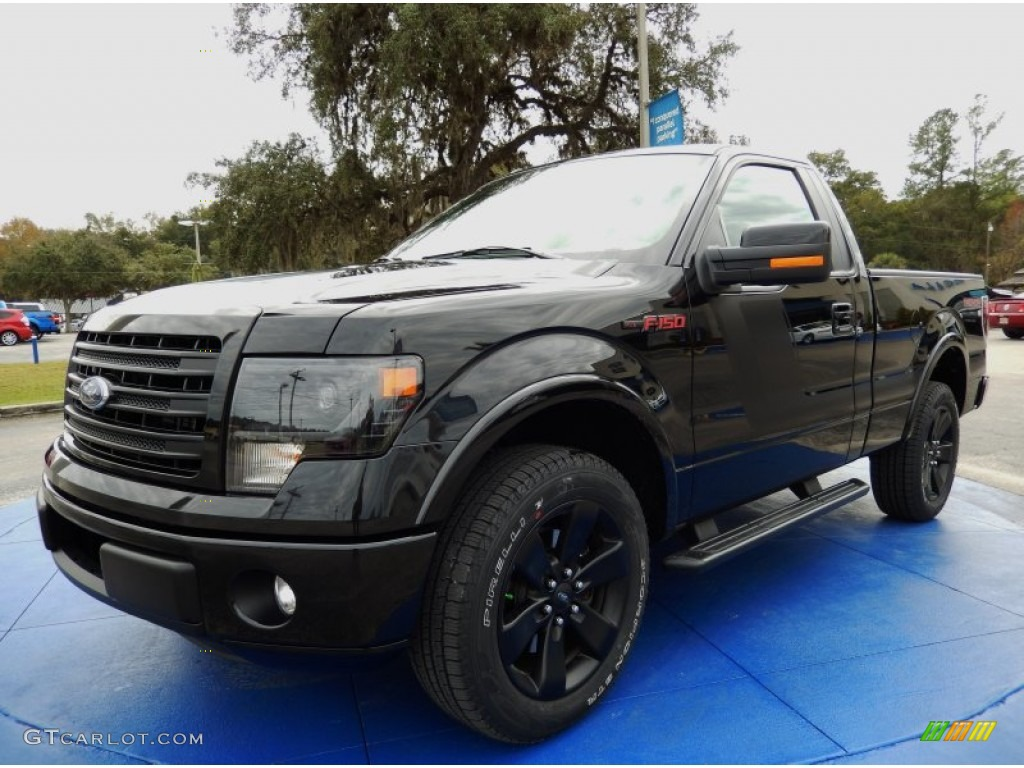 tuxedo black 2014 ford f150 fx2 tremor regular cab exterior photo 89344927. Black Bedroom Furniture Sets. Home Design Ideas